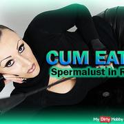 CUM EATING 4 - Spermalust in Reflektion!