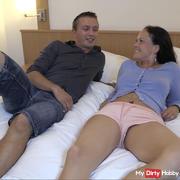 User meeting cock blown !!