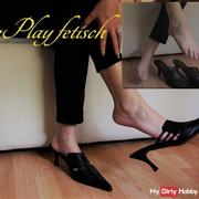Shoeplay fetish