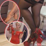 Hot nylon desire video