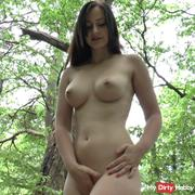 Stranger inseminated outdoor my pussy!