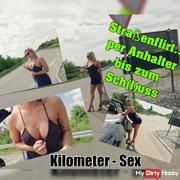 Street Flirt ... hitchhiked to Sch (l) uss