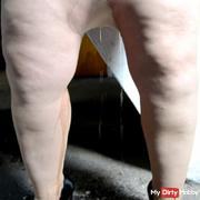 Eingepisste pantyhose for Hans