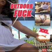 Outdoor FUCK - with the big cock