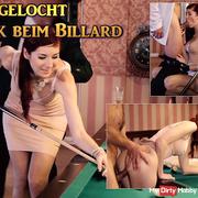 Eingelocht! Fuck the billiards!