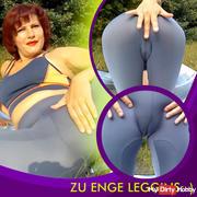 Too tight leggins :-)