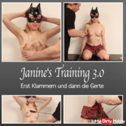 Janine's Training 3.0 - First braces and then whip