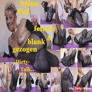 Nylon foot fetish !! also drawn blank ,, Zzz