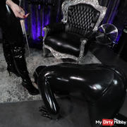 Welcoming the rubber goddess