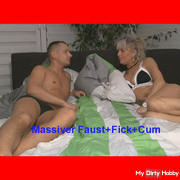 Hard Fist session squirts until your spanking!