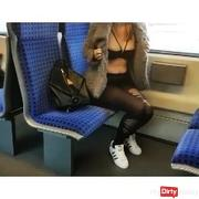 Before school !!! S-Bahn Quicky * (Fuck + Cumshot)
