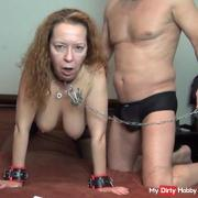 Slavegirl ass and pussy training