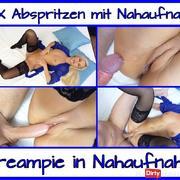 2 X Abspritzen mit Geiler Nahaufnahme