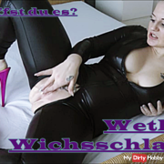 Wetlook jerking bitch !! Can you do it?