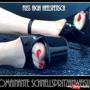 Quick dominant injection instructions for submissive - High Heels 1