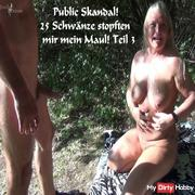 Public scandal! 25 Tails stuffed my mouth! part 3