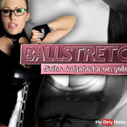 Ballstretching Teil.2 - Your task for a cool hanger!