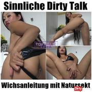 Sensual Dirty Talk Wichsanleitung with Natursekt