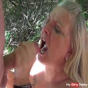 Public scandal! 25 Tails stuffed my mouth! Part 4