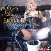 EKELHAFT! Pisse in Nylons & High Heels  by Lady_Demona