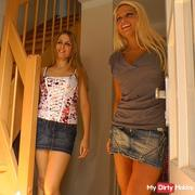 2 VILLAGE WHORES – Let's get FUCKING!!