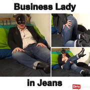 Business lady in jeans for you