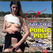 Horny Public Piss on vacation!