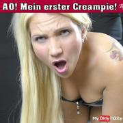 AO! My first creampie!