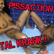 Pissing with Anni Angel!