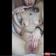 Clitoris shower