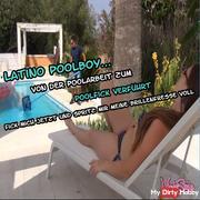 Latino pool boy seduced to mega Poolfick!