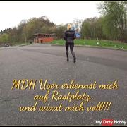 MDH user recognizes me on rest area and wixxt me full!