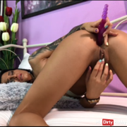 ooh lovely anal big dildo ! Come and get it !