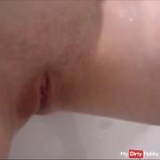Ich rasiere mich
