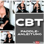 CBT instructions with paddle