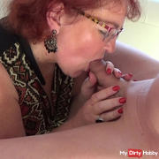Slave is used by mistress and maid - 3. The blowjob