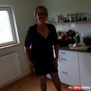 Sexy bei der Küchenarbeit