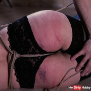 Hard whipping and hitachi