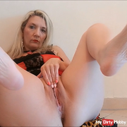 Pedicure and pussy