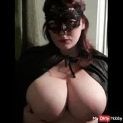 Red-haired with big breasts