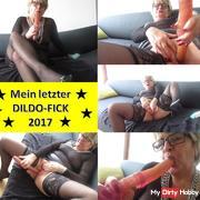 My last dildo fuck 2017