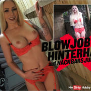 BLOWJOB-HINTERHALT TO NEIGHBORS | LUCY CAT