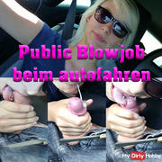 Public Car Blowjob - Blown at the car