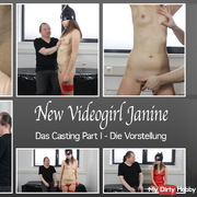 New Videogirl Janine - The Casting Part I - The Performance