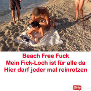Massive fuck at the hotel beach! Free fuck for ALL! AO