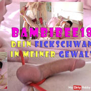 Teeny-Domina BambiBee18: Your Fickschwanz in my G ****