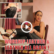 Worship leather and leather all again !
