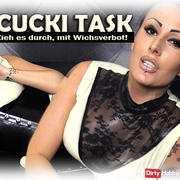 CuckiTask - Pull it through, with a jerk off!