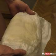 my real diaper slave