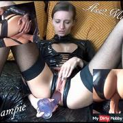 Deep in LATEXARSCH! Creampie + Ass2Mouth